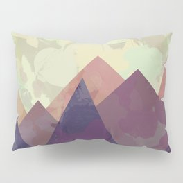 Modern Mountain Painting Series One | Landscape Painting Boho Home Decor Pillow Sham