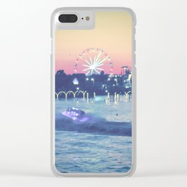 Broadway at the Beach Clear iPhone Case