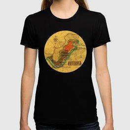 Map Mermaid Cabo de Gata T-shirt