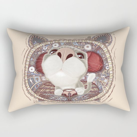Controlled Rectangular Pillow