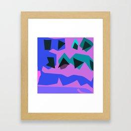 Purple Purple Framed Art Print