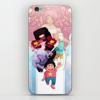 steven universe iPhone & iPod Skins featuring Steven by clayscence