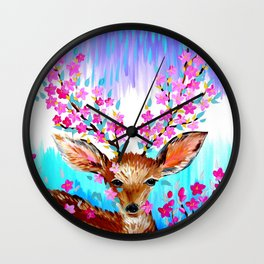 Freedom and Fresh Possibilities Wall Clock