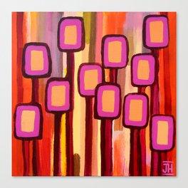Fuchsia Grove Canvas Print