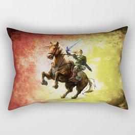 Legend Of Zelda Link Adventure Rectangular Pillow