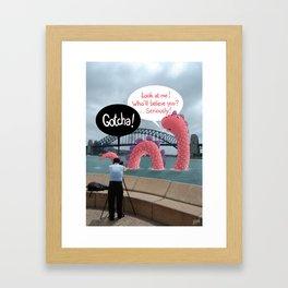 The secret of Nessie Framed Art Print