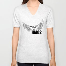 Spread your wings and HM02 Unisex V-Neck