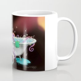 Octo Bath by dana alfonso Coffee Mug