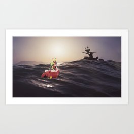 Wind Waker IRL Art Print