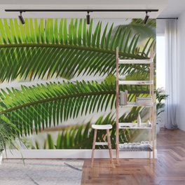Palm frond Wall Mural