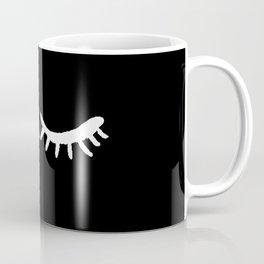 Closed Eyes MINIMAL II Coffee Mug