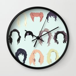 Witch Hair Wall Clock