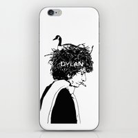 dylan iPhone & iPod Skins featuring Dylan by Sy Graham