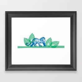 Mono Capuchino Framed Art Print