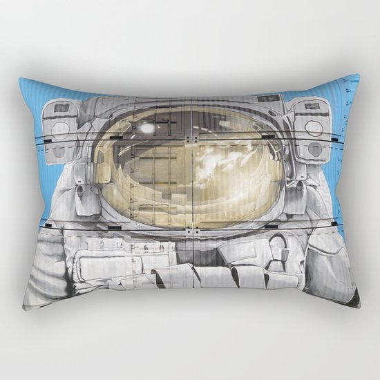Cosmonaut Astronaut 4 Rectangular Pillow