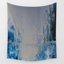Blue Palette Wall Tapestry