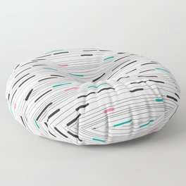 Simple paths Floor Pillow