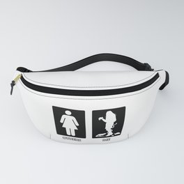 Others vs. Me (woman) - reptile Fanny Pack