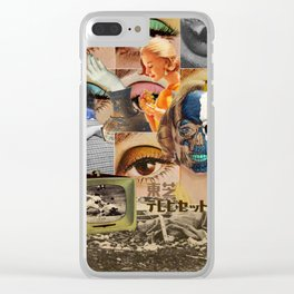 stagnant composition Clear iPhone Case