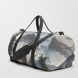 The Three Sisters - Canadian Rocky Mountains Duffle Bag