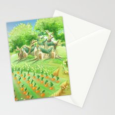 Carotte deluxe, concept art Stationery Cards
