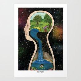 Deep Relaxation Art Print