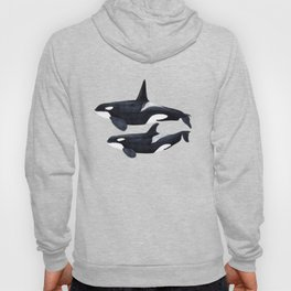 Orca male and female Hoody