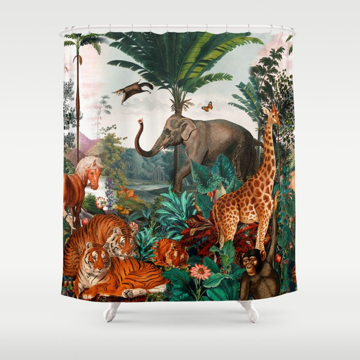 Beautiful Forest II Shower Curtain