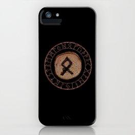 Othala Rune ancestral property, one's homeland or a sense of physical, mental, emotional, spiritual iPhone Case