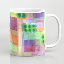 Red Bungalows and Trees Coffee Mug