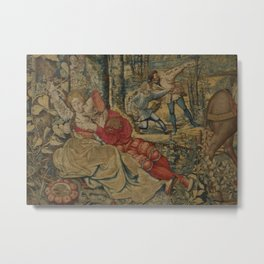 Hunt of Maximilian 4 Metal Print