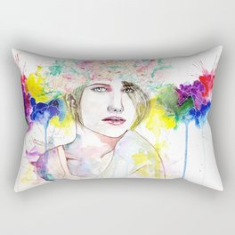 Flower Crown  Rectangular Pillow