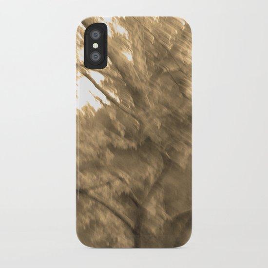 Treeage I - Sepia iPhone Case