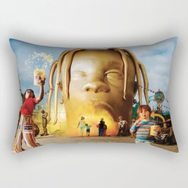 Travis S-cott Poster Rectangular Pillow