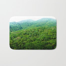 Green Hills of Hakone Bath Mat