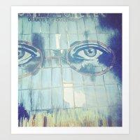 gatsby Art Prints featuring Gatsby by Kayleigh Kirkpatrick