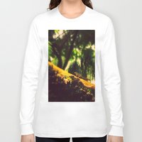 climbing Long Sleeve T-shirts featuring Climbing up. by BlacknWhite