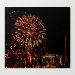 Firework collection 6 Canvas Print