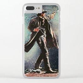 Wyatt Earp Clear iPhone Case