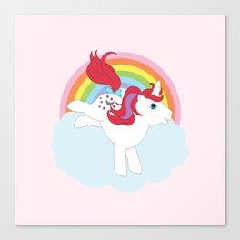g1 my little pony Moondancer Canvas Print