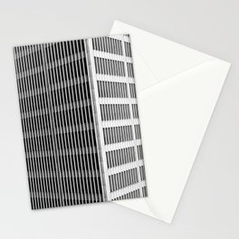 Modern Architecture Downtown Detroit Yamasaki Stationery Cards