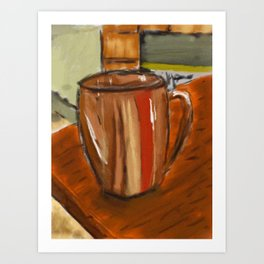 Another cup Art Print