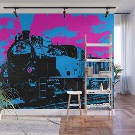 Vintage Steam Train Wall Mural