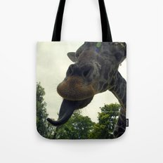 Giraffes are Silly. Tote Bag