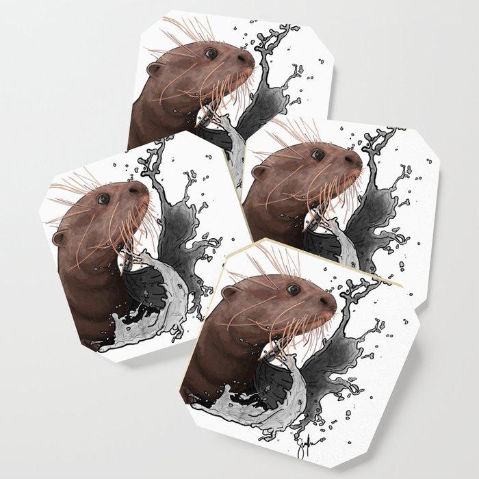 Cujo giant river otter Coaster