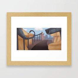 Background 3 Framed Art Print