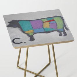 Cuts of Beef - Butcher Reference - Tenderloin in Red Side Table