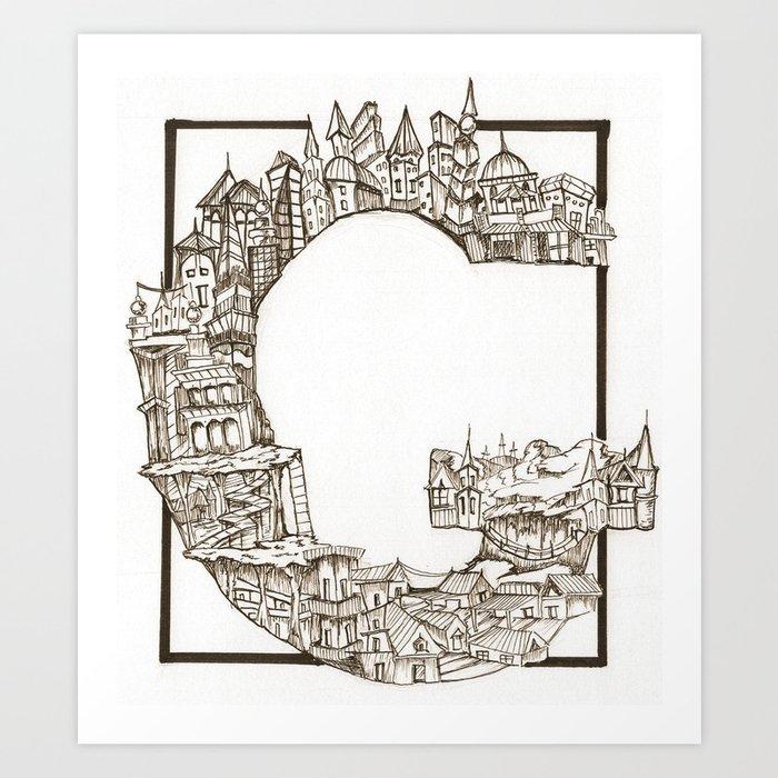 G is for Gangster Art Print