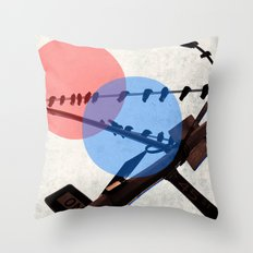 Dimensions Throw Pillow