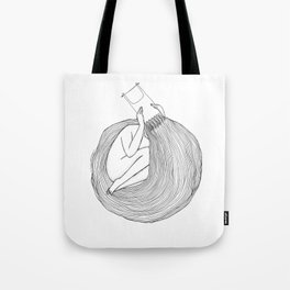 Post Surf Comb-Out Tote Bag